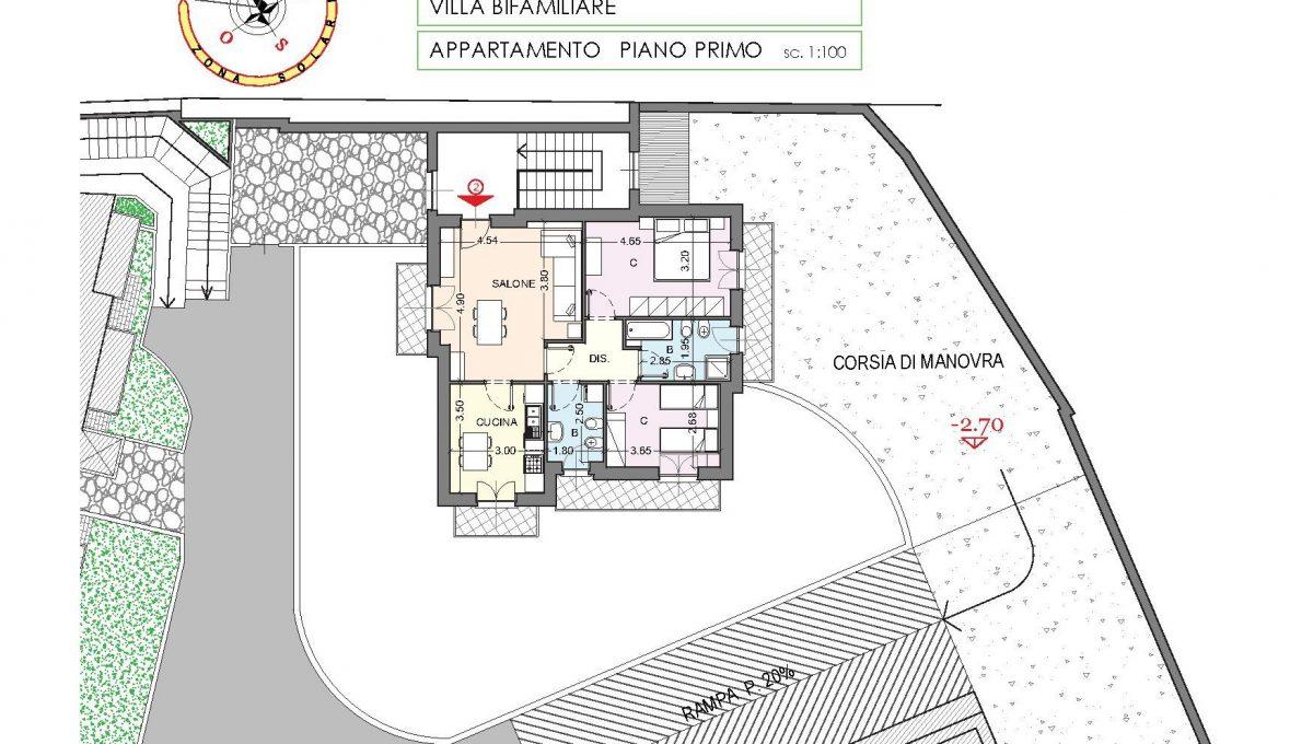villa bifam. piano 1