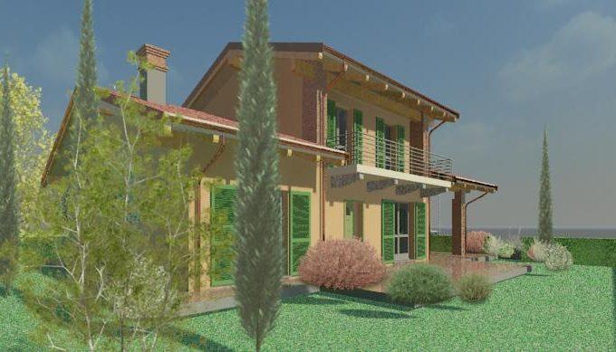 T01/20 – Trinità – Villa  MQ.160 – 5 locali