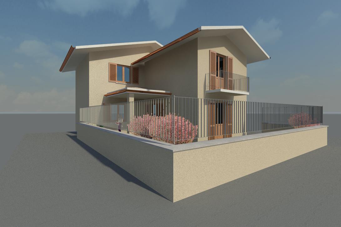 P01/17 – Piozzo – Casa indipendente MQ.130 – 4 locali
